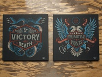 Victory or Death - Primitive Prints