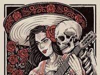 Deaths embrace poster web