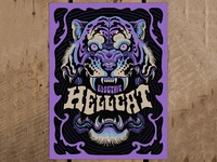Electric Hellcat - Screen Print