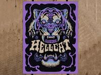 Electric Hellcat - Screen Print