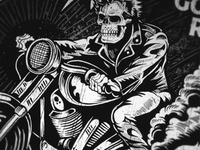 Dark Haired Rider