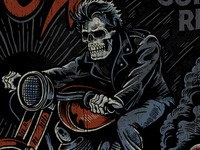 Dark Haired Rider - Now in Technicolor