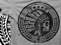 Native Headdress Tee