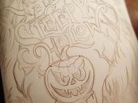 Legend of Sleepy Hollow - Sketch