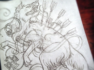 Werewolves of the Confederacy - Sketch