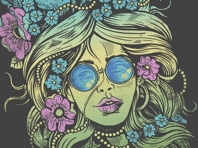 Flower Child - In Psychedelic Color