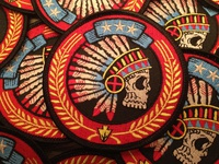 Tribal Headdress - Embroidered Patch