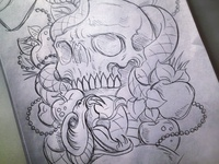 A New Temptation - Sketch
