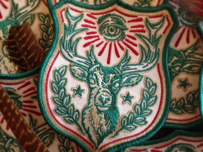 Stag Force - Embroidered Patch