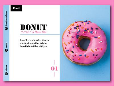 Donut a4 editoreal shapes epic visual illustrator card magazine graphic brand booklet print flyer design flyer poster business brochure design brochure branding design
