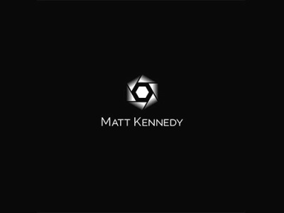 Matt Kennedy Photography.Jpg white black deign logo photographer photography