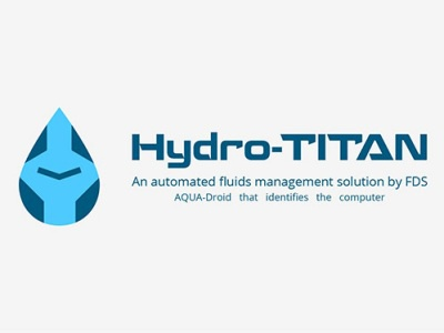 Hydro-TITAN design solution management fluids automated titan hydro logo water