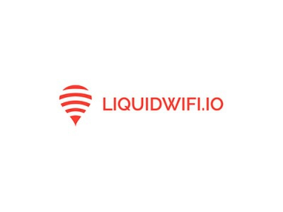 LiquidWifi.io design logo corporate wifi liquid