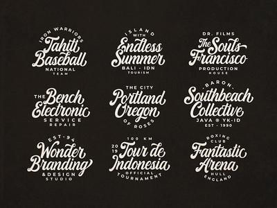 Everland - Bold Script Font typeface font identity flat lettering design type typography branding vector ui logo