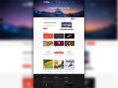 Webring Homepage Template  web logo istanbul interface clean template free psd psd download free psd free template website main akmurat muratak theme themeforest portfolio agency company psd website