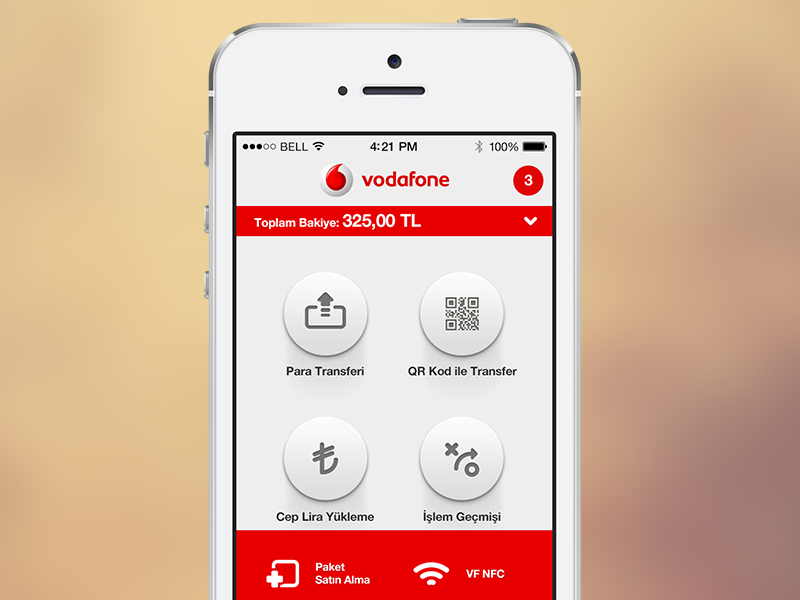 Vodafone Wallet App