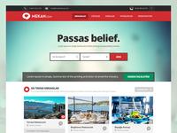 Mekan.com Startup Homepage