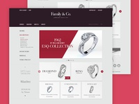 Jewelry homepage