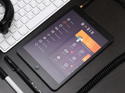 iPad Sidebar IOS7