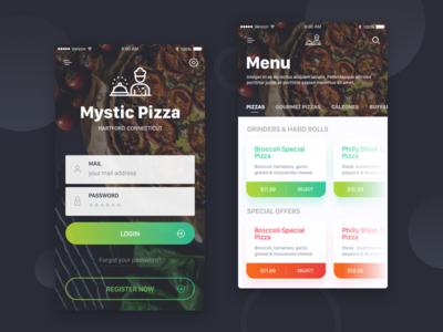 Food Deliver App Design