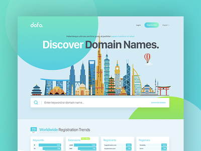 Dofo homepage startup project search homepage search doman search project domain sale domain homepage domain