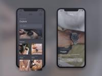Skagen App Consept