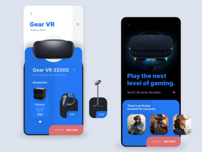 VR - Store app concept