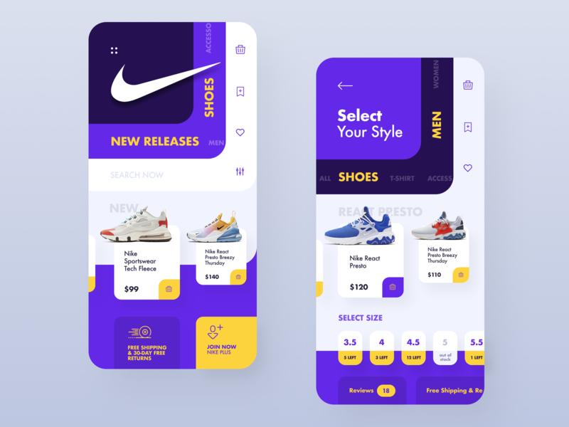 Nike Store App store mobile app shoe app shoe store product store nike app store app store