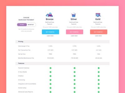 Conceptual Pricing Comparison Table Exploration landing page homepage header website comparision illustration interface pricing plans features page testimonial download creative webdesign stick table typography clean hosting plan pricing table pricing plan