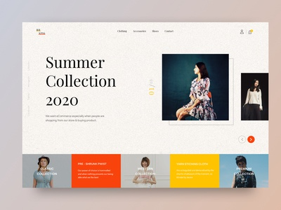 Bento - Fashion Web UI