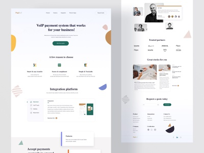 Payment Website Exploration finances voip home security payments money animation dashboard app style guides product design finance interface digital wallet gradient webflow websitedesign webdesign website payment