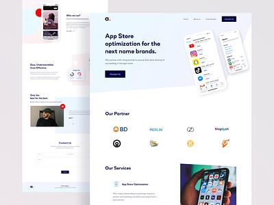 Apptuitive.tech - Website is Live! branding design landingpage minimal color clean ui web design software company app store apptuitive homepage design website design live