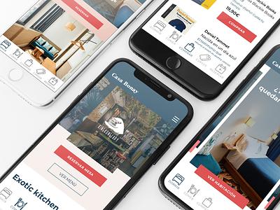 Casa Bonay Redesign ux graphic design ui design web ui