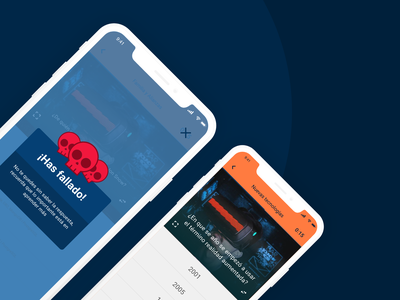 Corporative Trivia Game (Gamification) badges ux game design gamification ui ui design