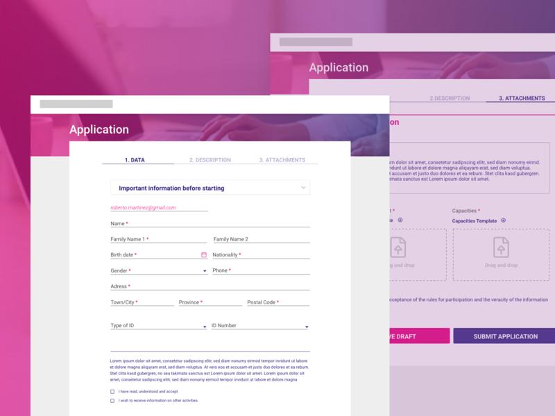 UI Design for platform to evaluate and manage projects management app management tool app design web design ui ui design