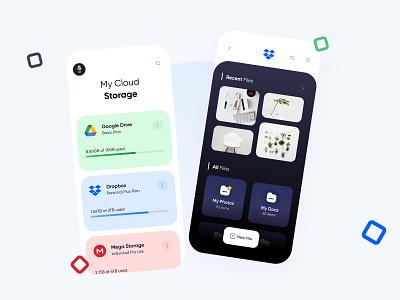 Management Cloud Storage App applications storage management iphone art application app concept creativity creative app concept ui dribble design
