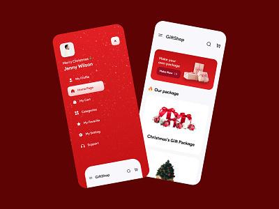 Animated Shopping Navigation animated protopie art application app concept creativity creative app concept ui dribble design