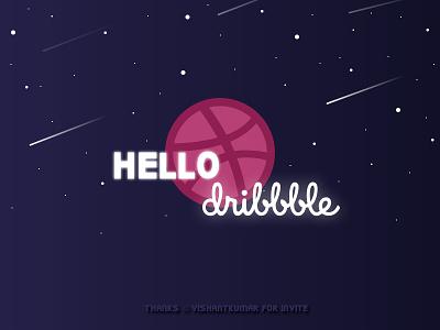 Hello Dribble first shot dribble hello dribble hello design
