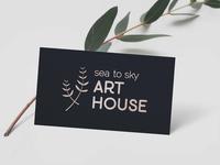 Sea to Sky Art House Logo