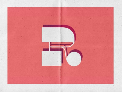R u sure pink typography modern abstract branding caitlin aboud simple illustration design
