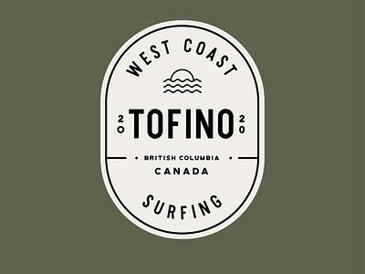 Tofino Surfing canada west coast surfing caitlin aboud illustration design