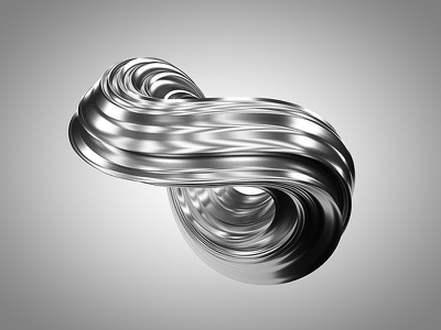 Ostenta realistic c4d cinema4d abstract maxon ostenta steel