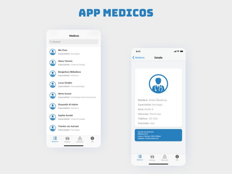 App Medicos medical medic medicos ios