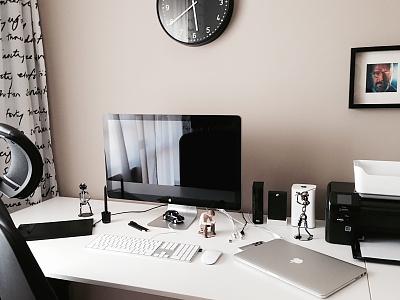 My workstation design desk home mac workstation workspace office