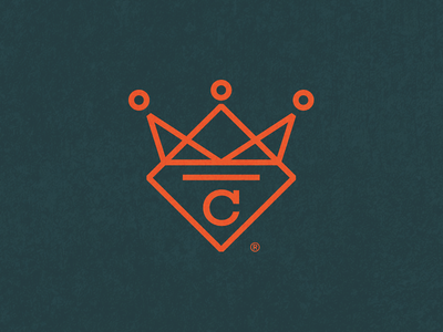 Crown Stone, Logo granite illustration branding logo quartz stone crown