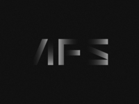 AFS corporate creative companies group typography print agency identity branding design logo