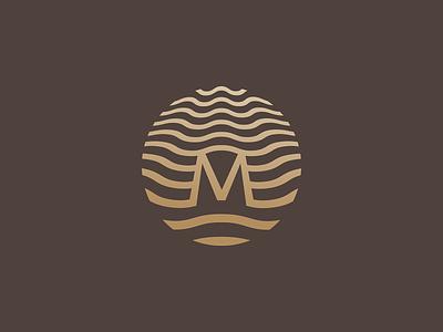 Mirada Hotels   Logo wave sea corporate illustration identity branding design logo hotel