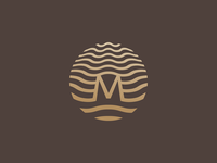 Mirada Hotels | Logo wave sea corporate illustration identity branding design logo hotel