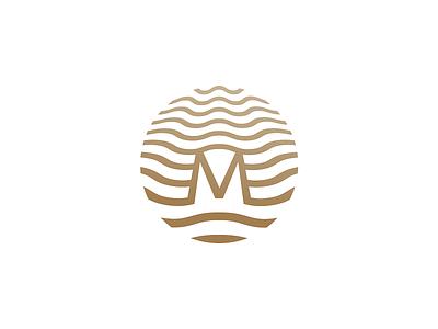 Mirada Hotels   Logo, Original wave sea corporate illustration identity branding design logo hotel