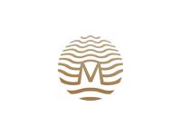 Mirada Hotels | Logo, Original wave sea corporate illustration identity branding design logo hotel